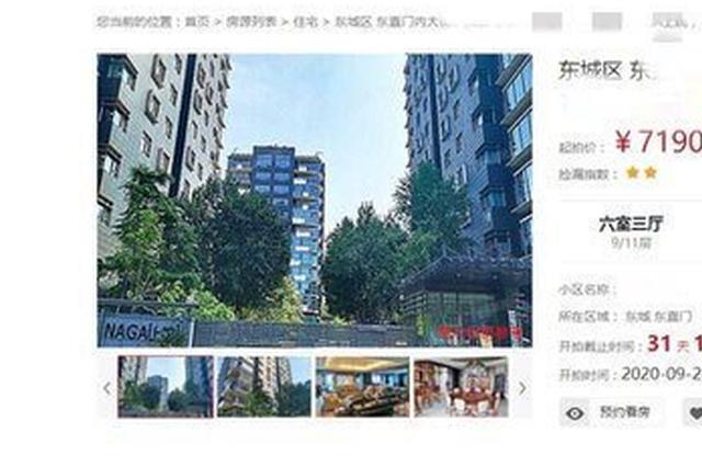 成龙北京千平豪宅将被拍卖