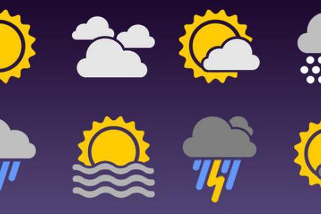 暴雨蓝色预警 安徽局地将迎暴雨降温天气