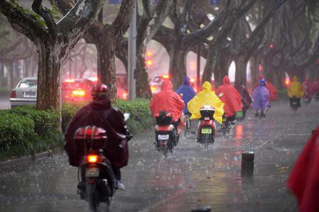 冷空气来袭 江城开启降雨降温模式
