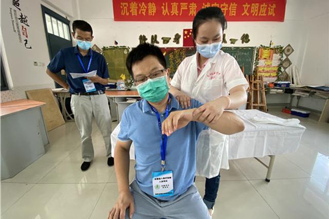 安徽122人参加全国盲人医疗按摩考试 人数为历年之最