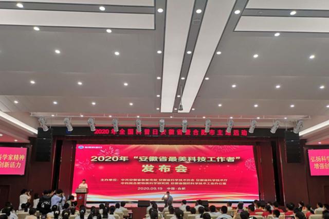 """致敬!2020年""""安徽省最美科技工作者""""公布"""