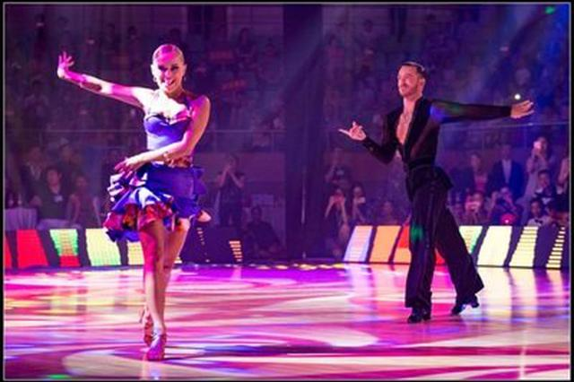 拉丁、标准舞公开赛举行 3000余舞蹈爱好者舞动宿州