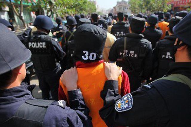 """充当""""地下执法队"""" 宿州一涉黑团伙30人领刑"""