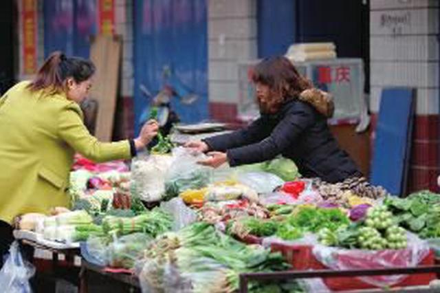 肉价菜价逐步走低!9月份安徽CPI同比上涨2.0%