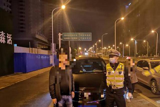 一夜合肥交警查获26名酒司机