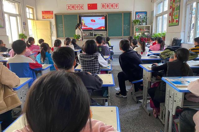 亳州市谯城区魏武小学开展第七次全国人口普查宣传教育活动
