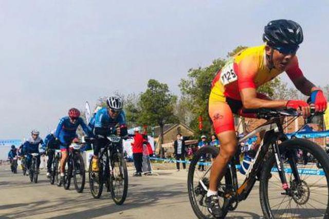 安徽省五健会自行车比赛在全椒开赛