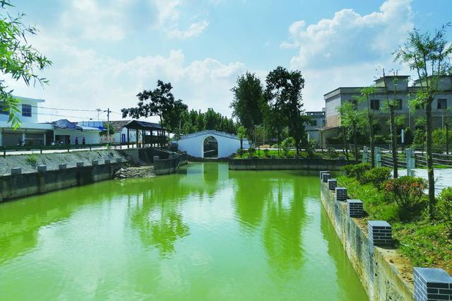 蚌埠:村庄美如画 群众乐开花