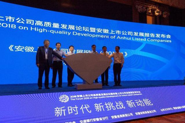 2020安徽上市公司高质量发展论坛成功举办
