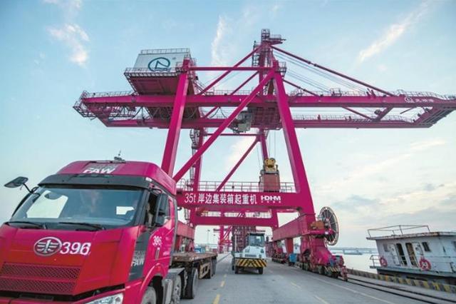芜湖港吞吐量再创新高