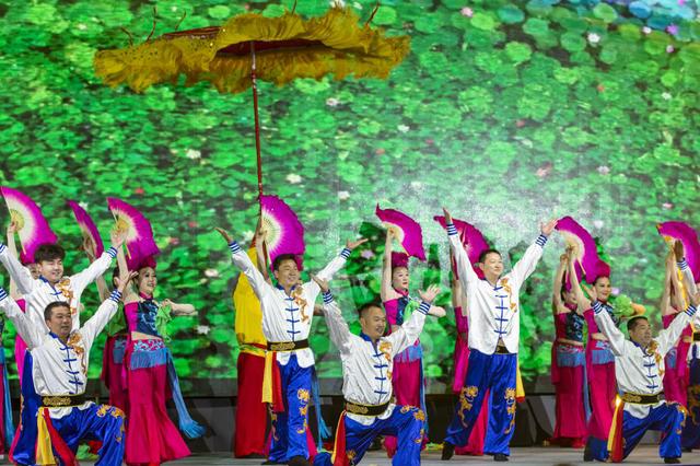 第二届淮河生态经济带文化旅游联盟大会正式开幕