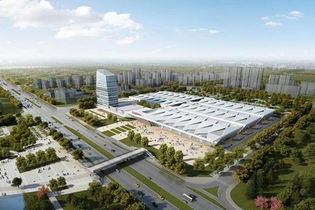 安庆会展中心2个展厅主体结构封顶