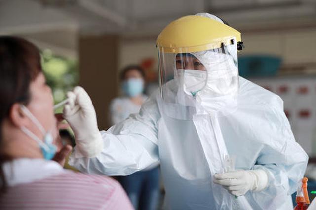 颍上县已检测149371人 全部为阴性