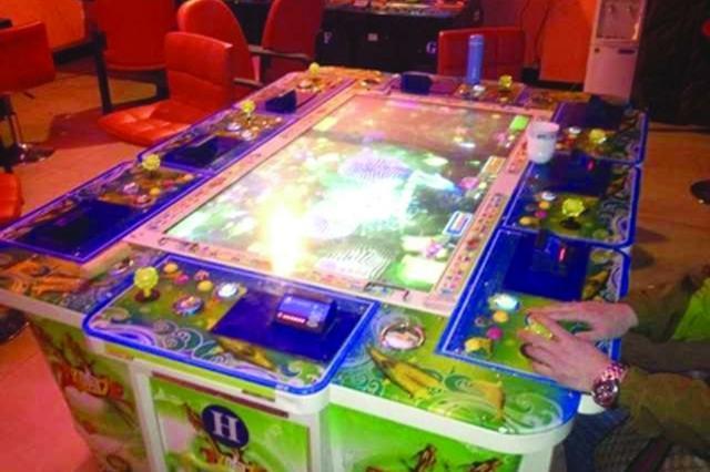 望江一赌博游戏机窝点被捣毁