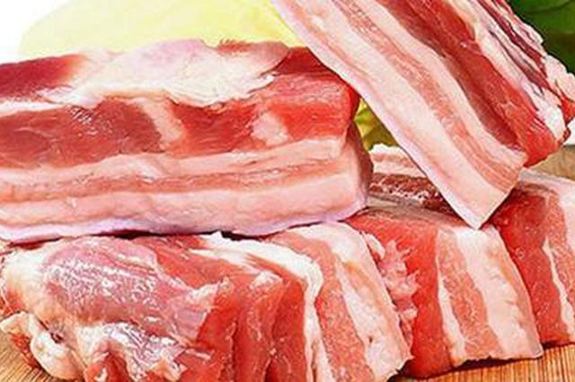 宿州农贸市场猪肉价格连续三个月下降