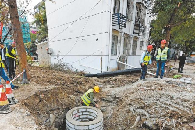 老旧小区雨污分流改造