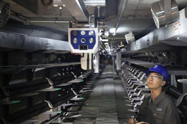 安徽电网首条智慧电缆隧道投运