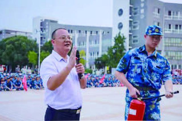 谷文涛: 消防知识 要走到哪讲到哪