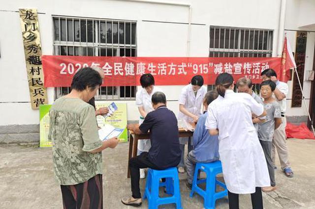 """黄山区龙门乡:免费健康体检服务""""孤岛""""老人"""
