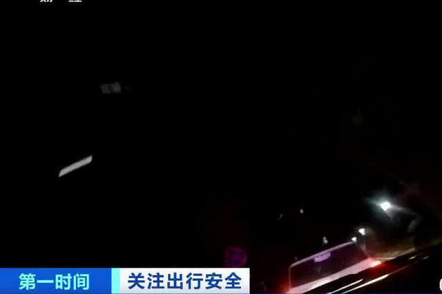 安徽淮北:司机醉驾闯卡躲进小区 面临多项处罚