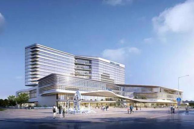 合肥市三院新区和中医院项目正式开建