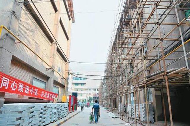 安庆计划改造152个老旧小区 惠及27619户居民