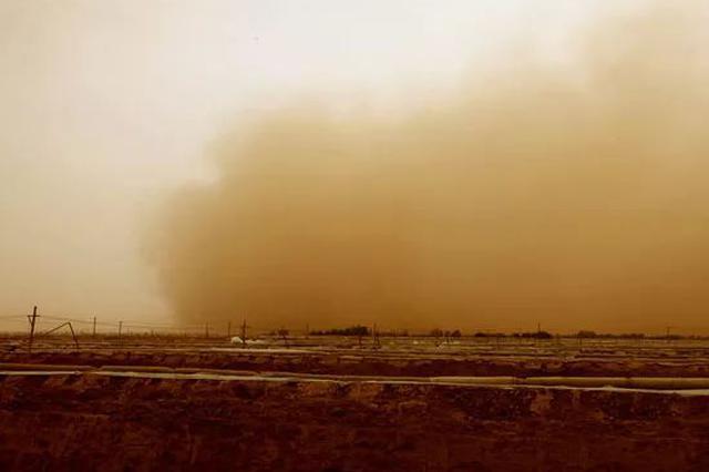 预警!沙尘暴来了 15日安徽将有沙尘过境