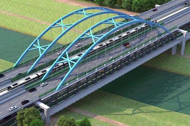 引江济淮繁华大道桥工程1月16日正式开工