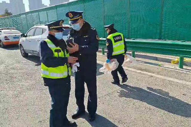 省市联动 一天查扣跨区域非法营运车辆9台