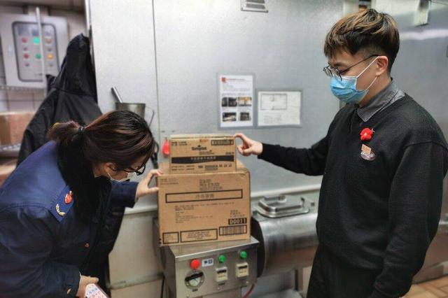交叉互查消除监管盲区 镜湖区查封400余公斤冷链食品
