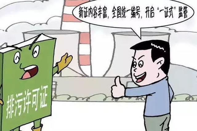 """安徽实现固定污染源排污许可""""全覆盖"""""""