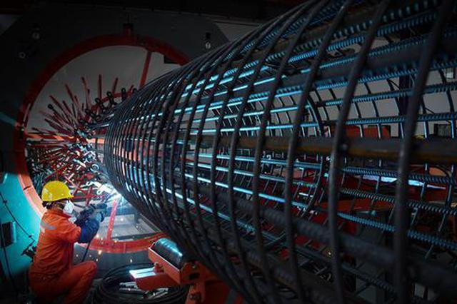 合肥轨道交通8号线钢筋智能化制造基地正式投产启动