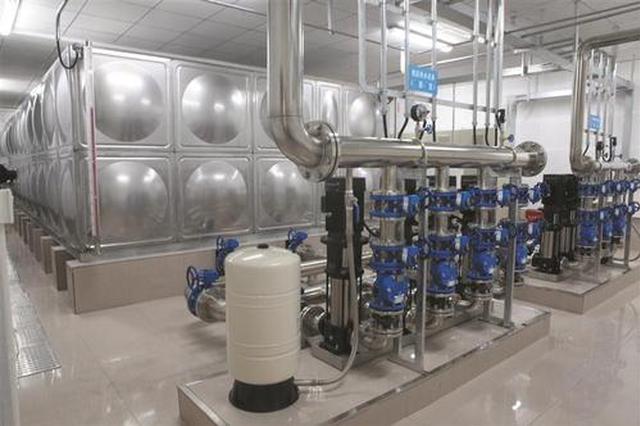 合肥市区小区二次供水设施 三年内将全部改造达标