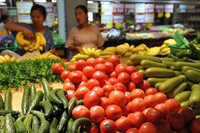 1月份安徽居民消费价格同比下降0.2%