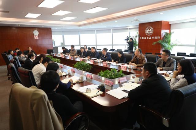安徽省生态环境厅贺泽群厅长带队赴沪对标学习调研