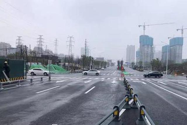 合肥休宁路(金寨路-徽州大道)全线放行通车