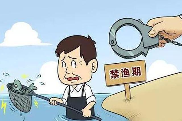 用地笼江边非法捕捞 一男子被判拘役一个月