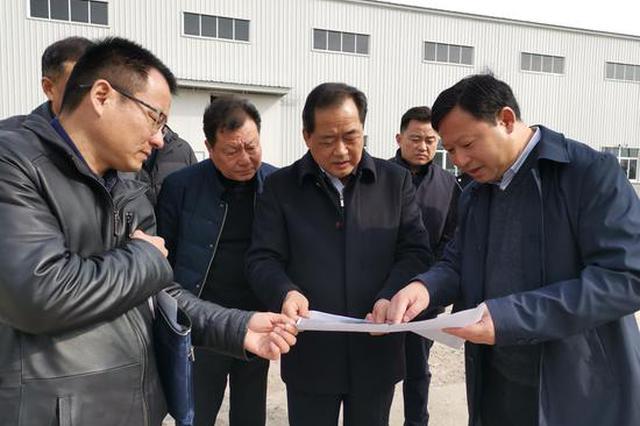 滁州定远:万瑞健率队调研推进重点项目建设