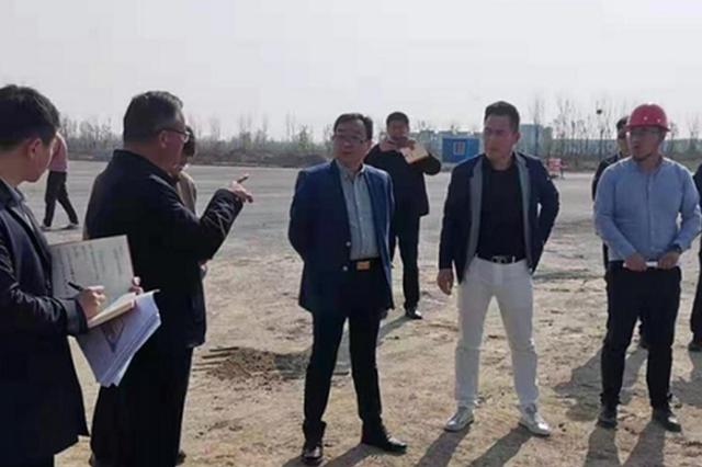 亳芜园区开展重点建设项目集中现场督查