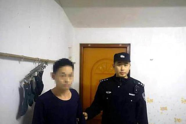 """安徽泾县:""""老钓""""自制""""渔竿""""偷盗财物被捕"""