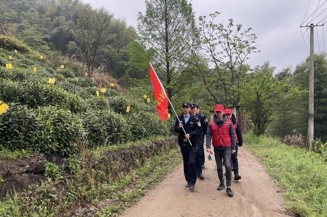 黄山区:护航茶季保平安