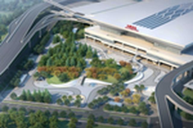 新合肥西站西广场将配建近千停车位
