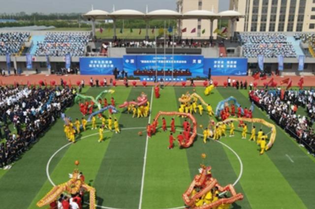 安徽灵璧 全民健身 体育强县