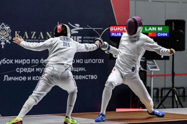 合肥击剑敲开奥运之门 喜夺东京参赛席位
