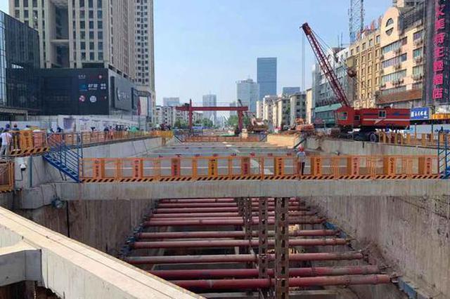 34.8米!合肥轨道最深车站通过首段基底验收