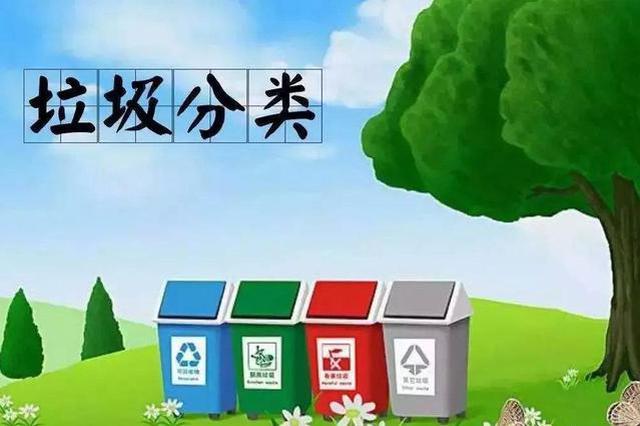 垃圾分类让城市更文明