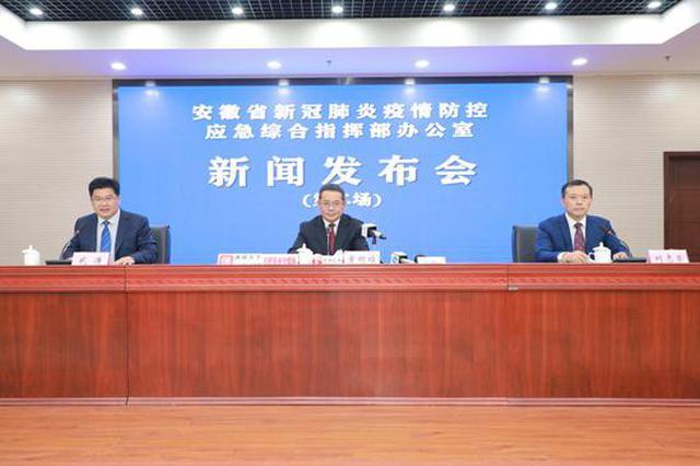 5月16日安徽新增2例确诊病例