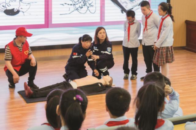 琅琊区:防溺水宣传进校园