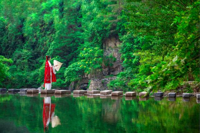 石台县牯牛降景区(图源:安徽省文化和旅游厅)