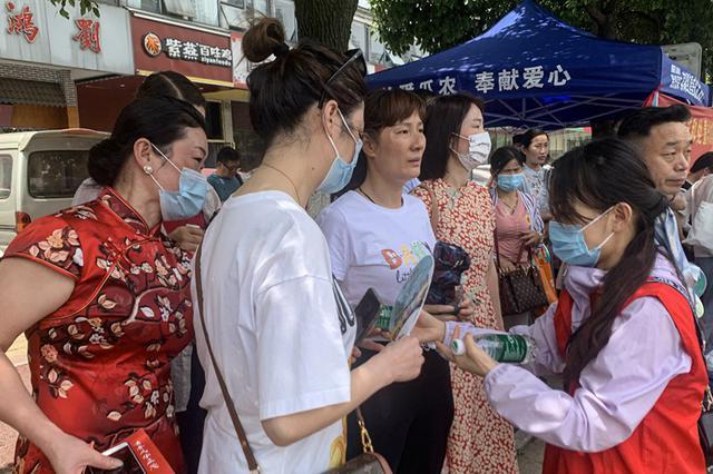 合肥滨湖:志愿服务护航高考